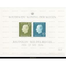 1976 King Baudouin 20 & 30 Fr