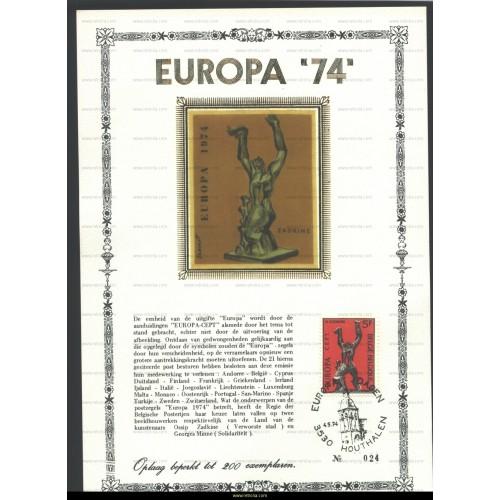 Maximum card 1974 Europe