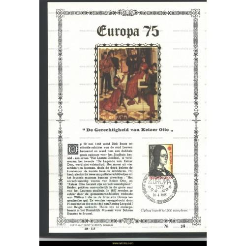Maximum card 1975 Europe 10 Fr