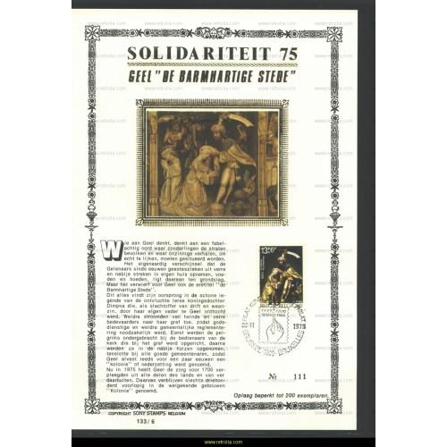 Maximum card 1975 Geel