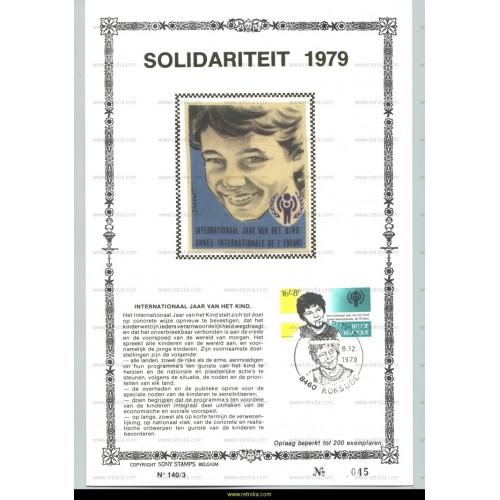 Maximum card 1979 Int. Jaar van het Kind