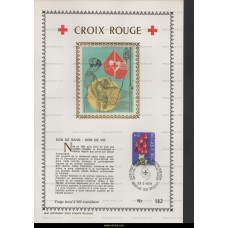 1974 Belgian Red Cross 4+2 Fr