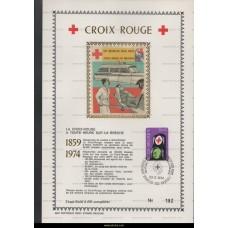 1974 Belgian Red Cross 10+5 Fr