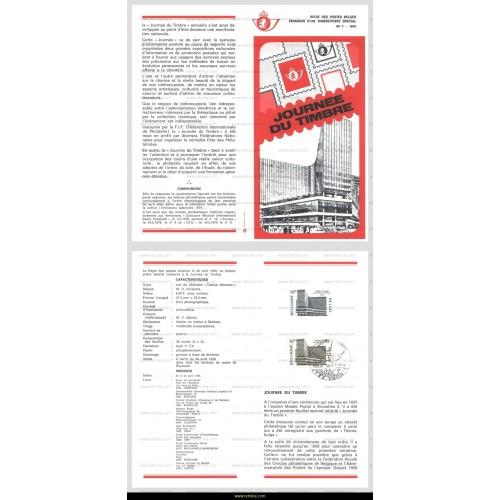 First Day Sheet 1976 Journ�e du timbre