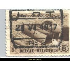 1948 - Stamps for parcel post 9 Fr