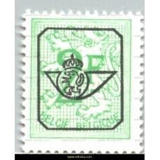 1968 Digit on heraldic lion 2 Fr
