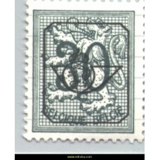 1967 Digit on heraldic lion 30 c
