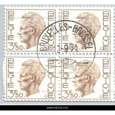 1971 King Baudouin Elstrom 3,50 Fr