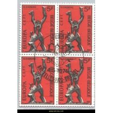 1974 Europe Sculptures 5 Fr