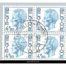 1974 King Baudouin 4.50 Fr