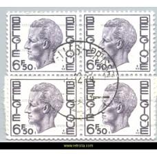 1974 King Baudouin 6.50 Fr