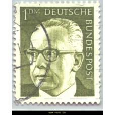 1970 Gustav Heinemann 1 DM