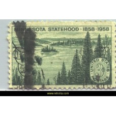 1958 State of Minnesota 1858 - 1958
