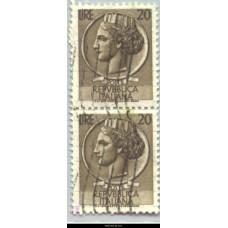 1955 Italia 20 Lire