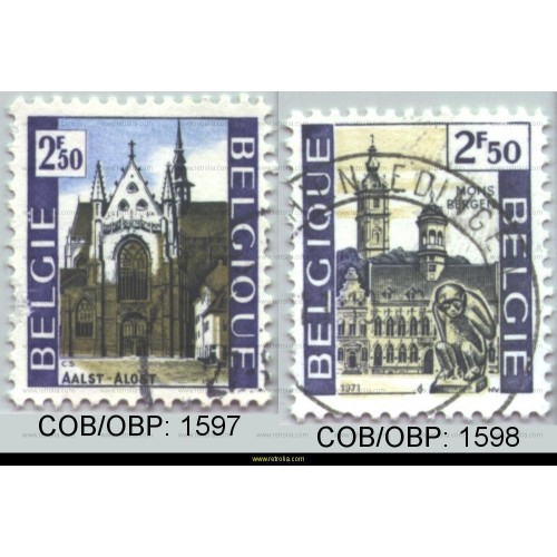 Stamp 1971 Tourism