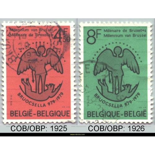 Stamp 1979 Bruocsella 979-1979