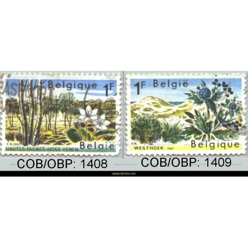 Stamp 1967 Nature Protection