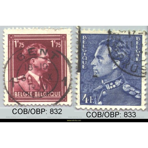 Stamp 1950 King Leopold III
