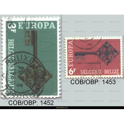 Stamp 1968 Europe - Key