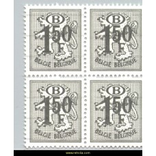 1975 Digit on heraldic lion with B in an oval 1,50 Fr