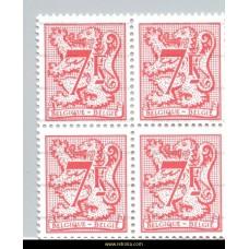 1982 Digit on heraldic lion and streamer 7 Fr