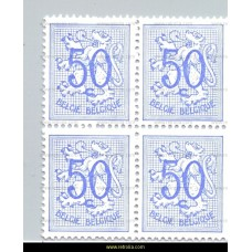 1970 Digit on heraldic lion 50 c