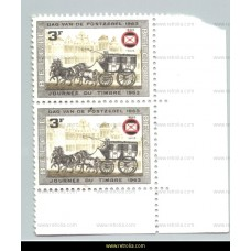 1966 Belgian philatelists Association 3 Fr