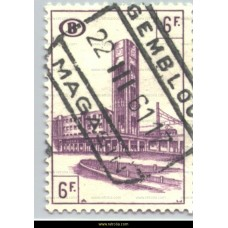 1954 North-South connection Brussels 6 Fr