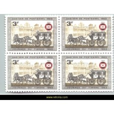 1966 Belgian philatelists Association 3 F