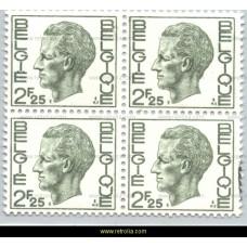 1972 King Baudouin 2,25 Fr