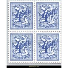 1974 Digit on heraldic lion 4,50 Fr