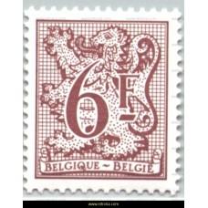 1981 Digit on heraldic lion and streamer 6 Fr