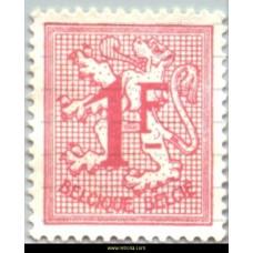 1973 Digit on heraldic lion