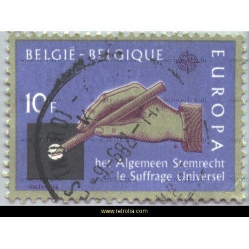 Stamp 1982 Europe Historical events