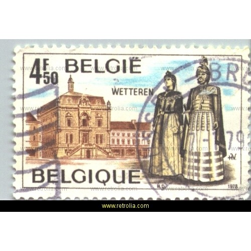 Stamp 1978 Touristic issue
