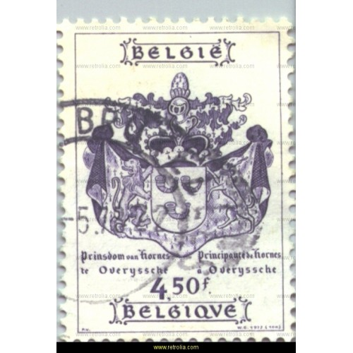 Stamp 1977 Coat of Arms of the royal family of Hornes