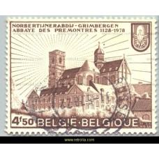 1978 850 years Community of the Norbertines Grimbergen