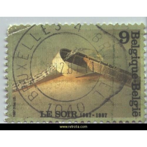 Stamp 1987 Newspapers  Le Soir