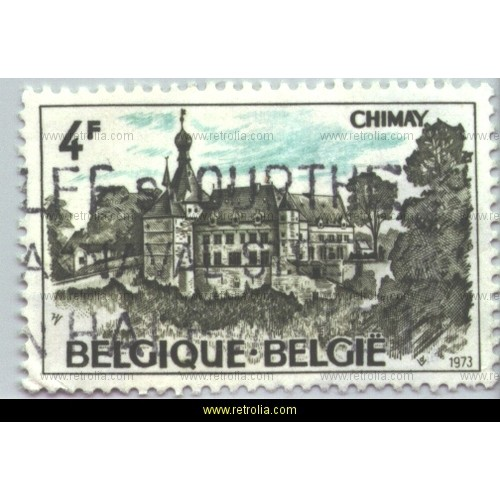 Stamp 1973 Tourism Chimay