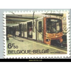 1976  Opening first metro line Brussels
