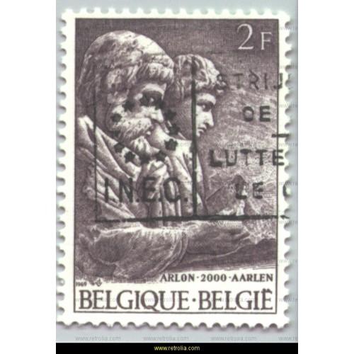 Stamp 1969  Second Millennium of Arlon