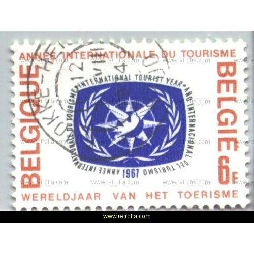 Stamp 1967  International year of tourism