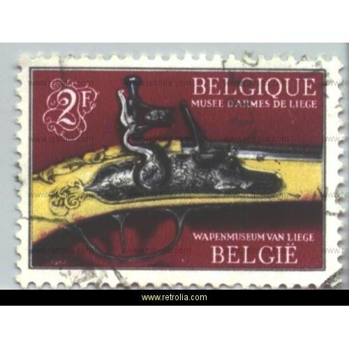 Stamp 1967  Arms Museum Li�ge