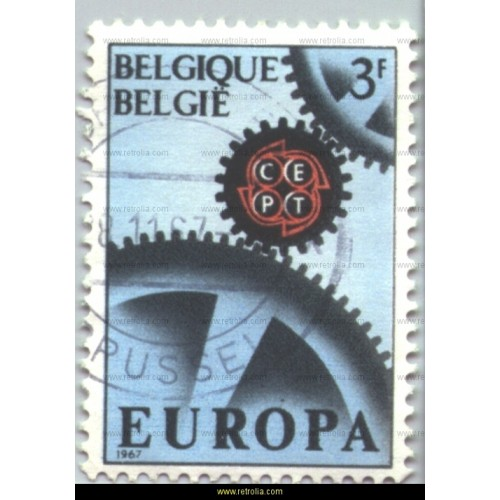 Stamp 1967 Europe � Wheelwork