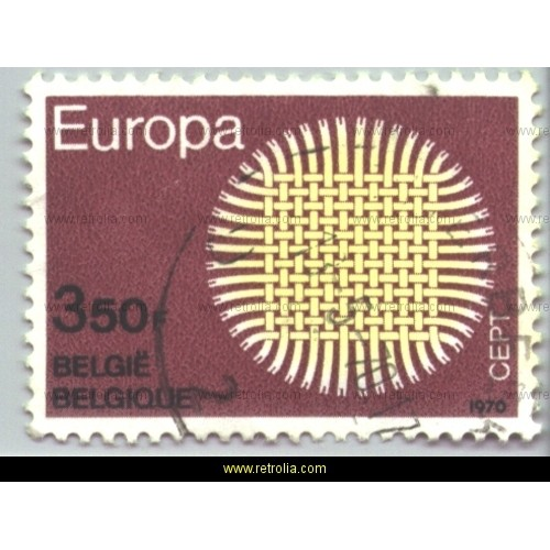 Stamp 1970 Europe � Braided Sun