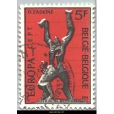1974 Europa Sculpture Ossip Zadkine