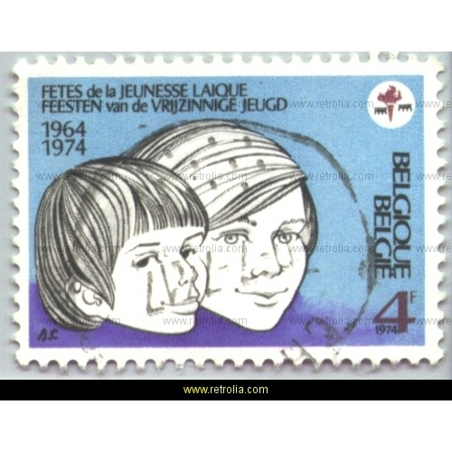 Stamp 1974  Lay youth festival