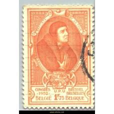 1952  Universal Postal Congress J. Baptiste