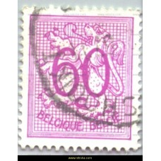1951 Digit on heraldic lion 60