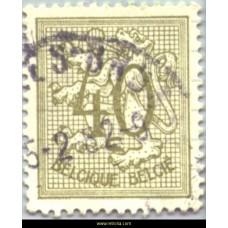 1951 Digit on heraldic lion 40